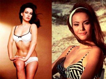 Клодин Оже: фото в молодости, биография девушки Бонда и Мисс Франции 1958