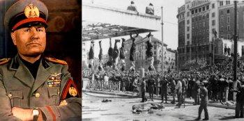 Смерть Бенито Муссолини - фотографии казни итальянского дуче