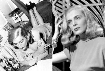 Фото молодой Лизабет Скотт, голливудской актрисы и красавицы 1940-50-х