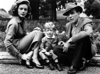 Хамфри Богарт и Лорен Бэколл – история любви и семейные фотографии голливудской пары