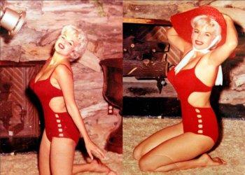 Джейн Мэнсфилд - фотографии секс символа 1950-х и звезды Playboy