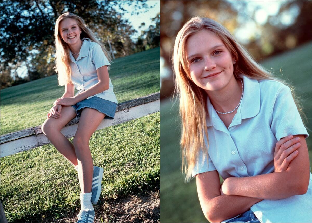 Кирстен Данст в молодости – фото актрисы в 1995 году