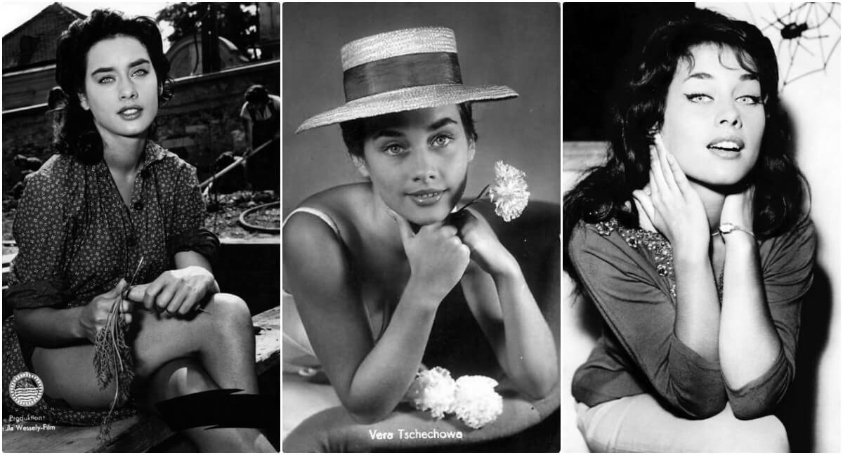 Вера Чехова – фото немецкой актрисы 1950 - 1960