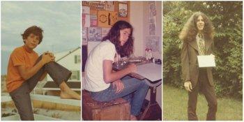 Фото Энтони Бурдена в детстве и молодости