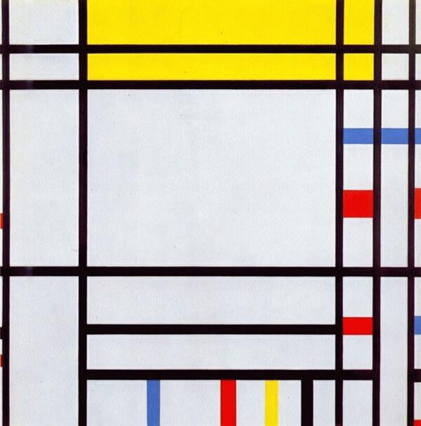 Картина Пит Мондриан (Pieter Mondriaan)