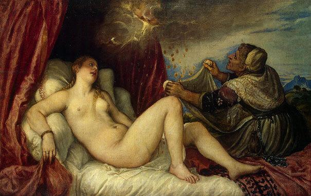 Картина Тициан Вечеллио (Tiziano Vecellio)