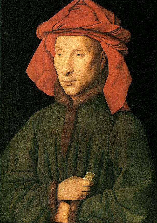 Картина Ян ван Эйк (Jan van Eyck)