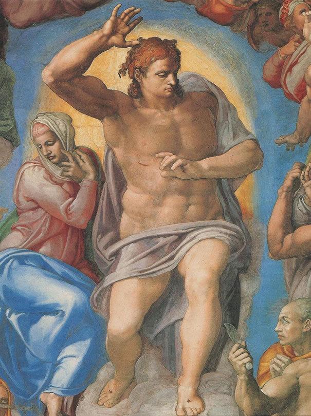Картина Микеланджело (Michelangelo)
