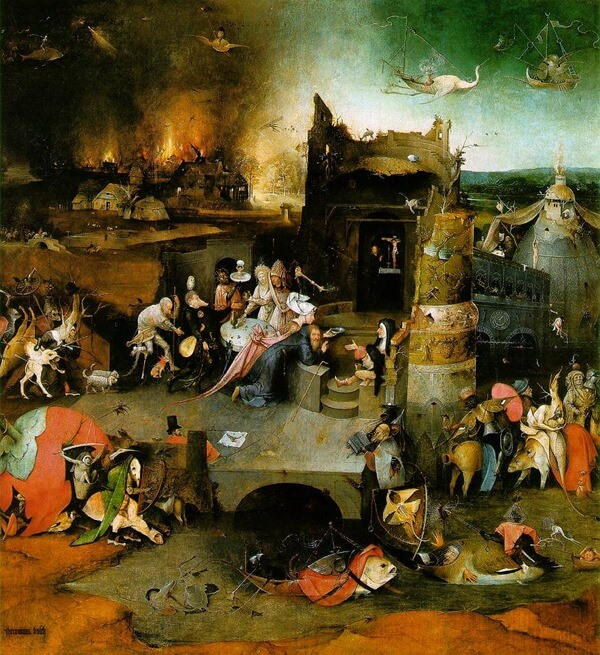 Картина Иероним Босх (Jheronimus Bosch)