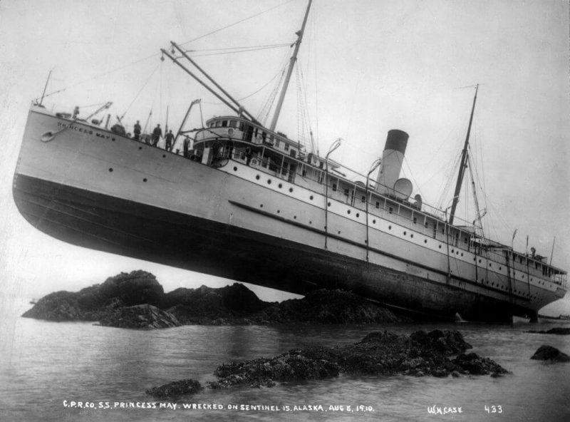 Кораблекрушения парохода
