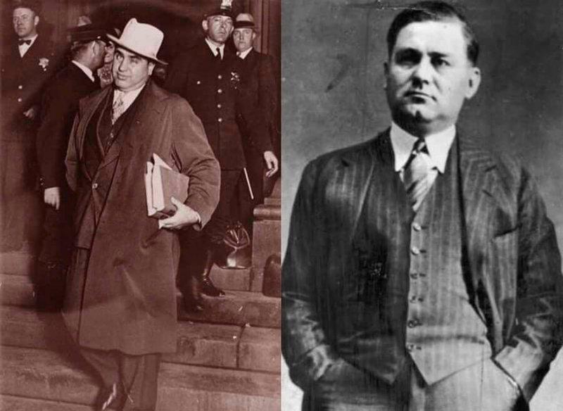 Два преступных короля Чикаго: Аль Капоне и Багс Моран (Al Capone, Bugs Moran)