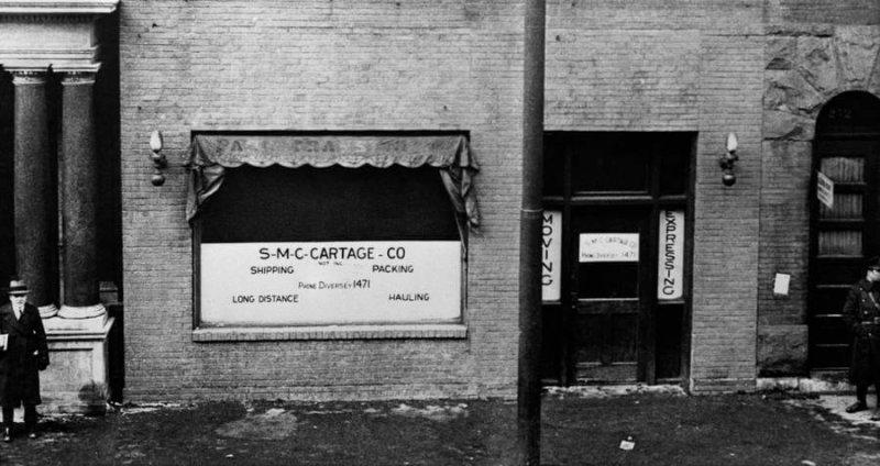 Подпольный склад бутлегеров, где произошла Бойня