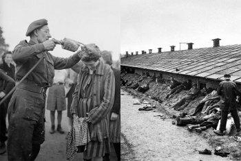 Берген-Бельзен — история концентрационного лагеря и хроника освобождения в фотографиях