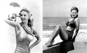 Фотографии Кэрол Лэндис - трагическая биография звезды Голливуда 1940-х