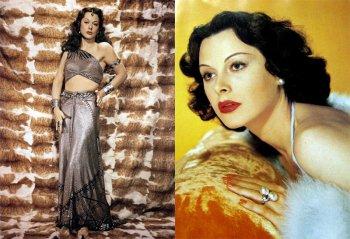 Хеди Ламарр - фотографии, биография актрисы и изобретателя 1930-40 гг