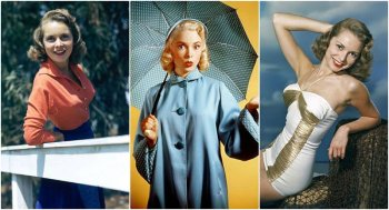 Фотографии Джанет Ли в молодости, актриса 1940-50 и звезда фильма Психо