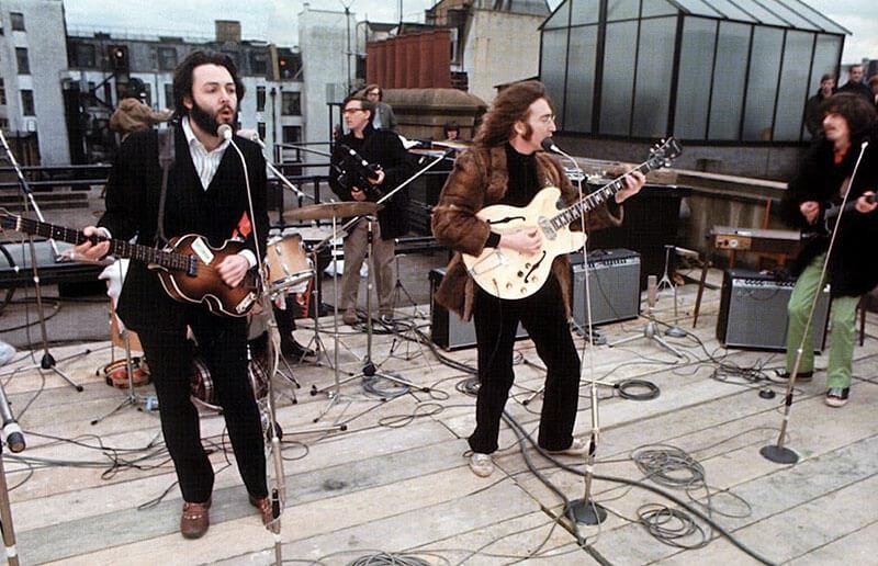 Последний концерт Битлз (фото + видео) – выступление The Beatles на крыше 30 января 1969