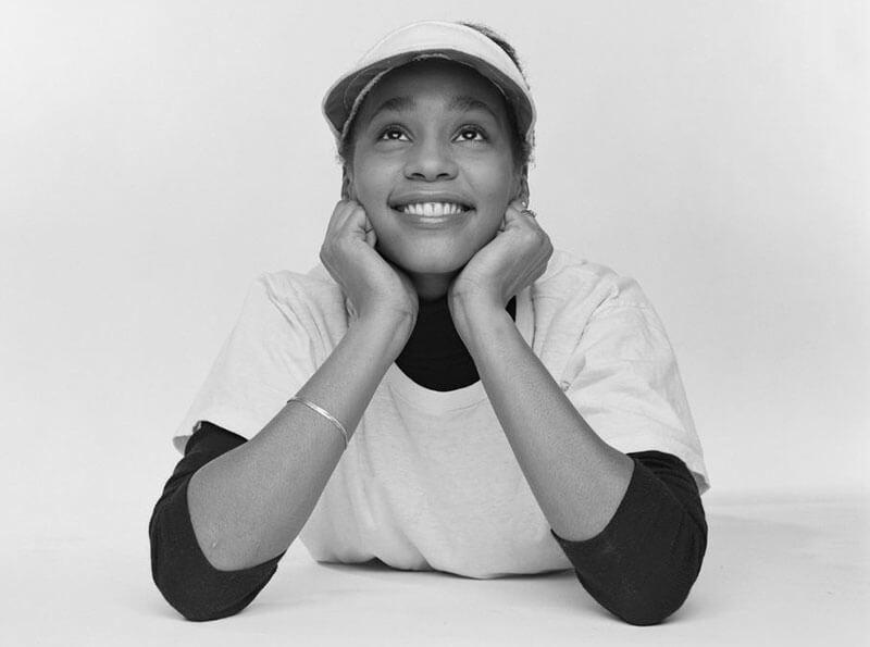 Уитни Хьюстон — фото в молодости (фотосессия 1982 года)