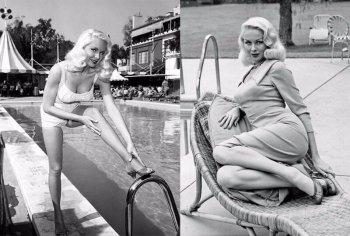 Джои Лэнсинг – фотографии и биография секс-бомбы Голливуда 1950-х