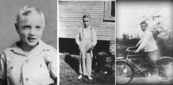 Фотографии Элвиса Пресли в детстве - короля рок-н-ролла и мечты всех девушек 1950-x