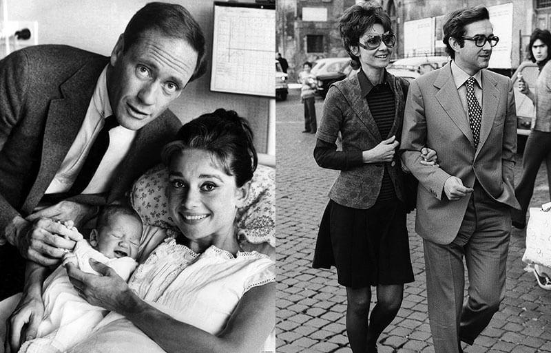 Одри Хепберн – семья, дети, мужья, любовники и скандальные романы актрисы