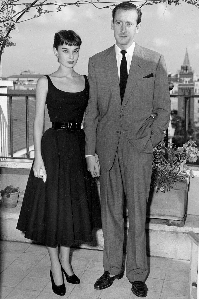 яблоко одри хэпберн и ее мужья фото одежда