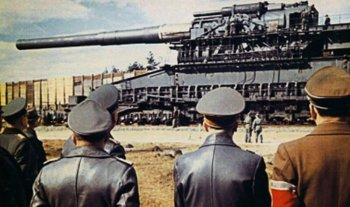 Дора - самая большая пушка в истории второй мировой войны