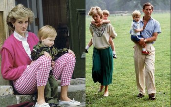 Принцесса Диана – фотографии с детьми и мужем принцем Чарльзом