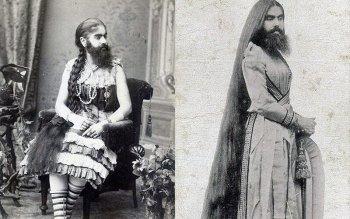 Энни Джонс - история бородатой женщины конца 19 века
