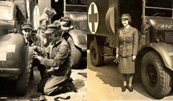 Королева Елизавета II на службе во время Второй мировой войны