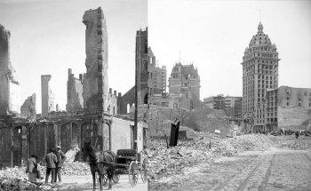 Землетрясение в Сан-Франциско 1906 - последствия и фото разрушенного город до основания