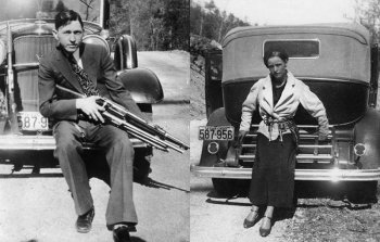 История Бонни и Клайда — знаменитых гангстеров США 1930-х годов