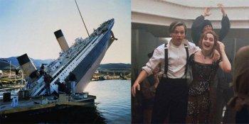 Как снимали фильм «Титаник»: фото, видео и интересные факты о съемках