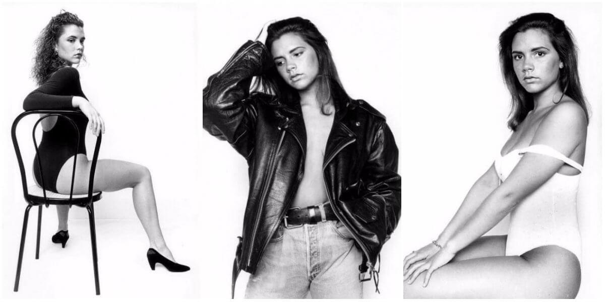 Виктории Бекхэм фото в молодости (фотосессия 1990-х)
