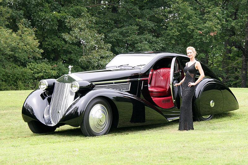 Роллс-Ройс Фантом 1925 - фотографии и обзор люксового авто