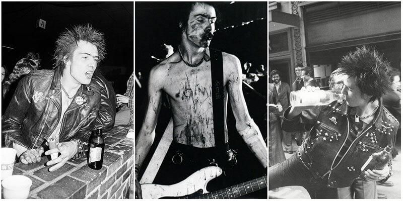 Сид Вишес – фото культового панка в середине 1970-х