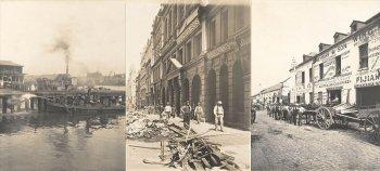 Фотографии города Сидней во время Бубонной чумы, 1900 год
