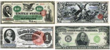 История дизайна Доллара США (история + изменения)