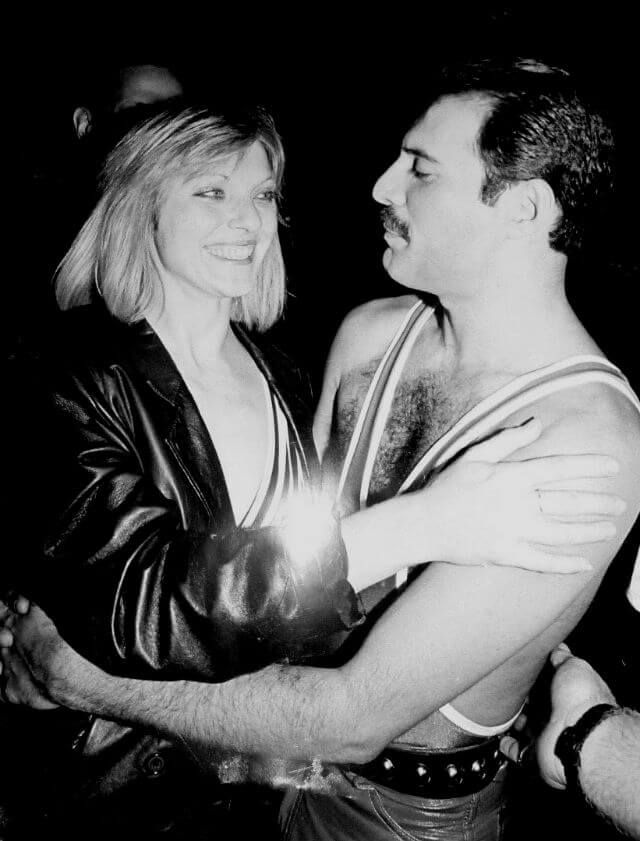 Фотографии Фредди Меркьюри и Мэри Остин (Freddie Mercury and Mary Austin)