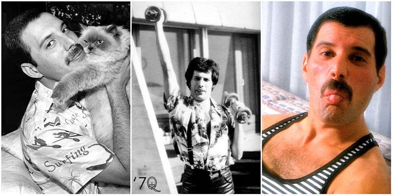 История Фредди Меркьюри в фотографиях от рождения до последних дней жизни