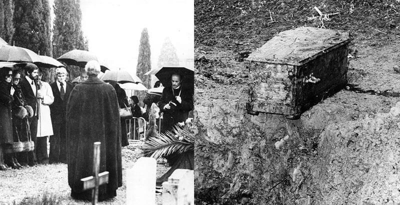 Как расхитители могил украли гроб Чарли Чаплина ради выкупа