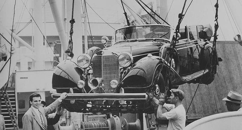 Парадный автомобиль Гитлера - кабриолет Мерседес Бенц 770