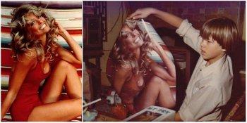 Фарра Фосетт - история культового фото в красном купальнике