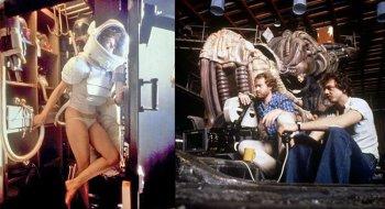 Как снимали фильм «Чужой» 1979 года - фото со съемок, интересные факты, трейлер и сюжет