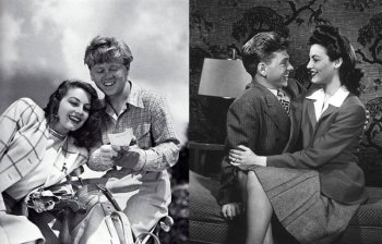 Ава Гарднер и Микки Руни – фотографии голливудских звезд и супружеской пары в 1942-м