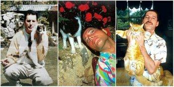 Фредди Меркьюри и его любимые домашние питомцы