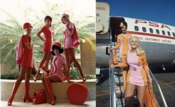 Фотографии сексуальных стюардесс США 1970-х годов