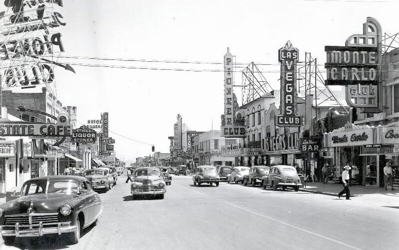 Лас-Вегас 1940-х - старинные фотографии города в период становления мировой столицы азартных игр