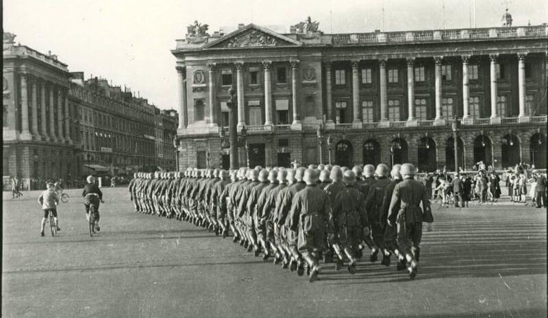 Париж во время оккупации нацистской Германии