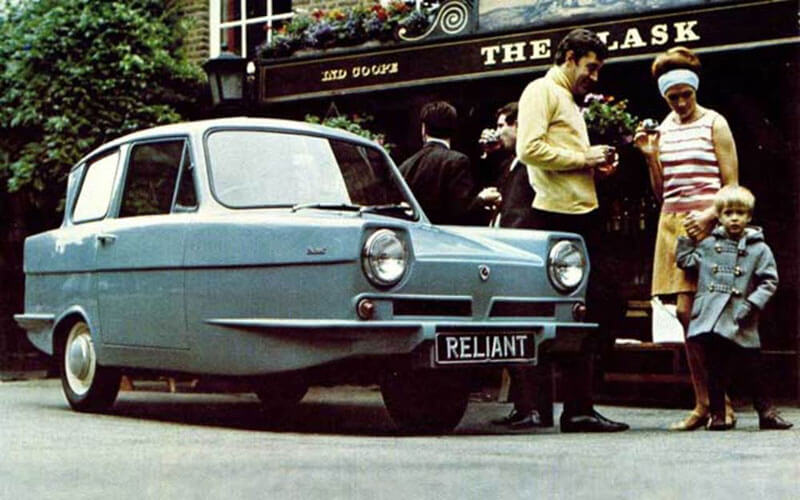 Reliant Robin – худший автомобиль в истории британского автопрома